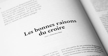 HEMISPHERES N°14 La force des croyances // www.revuehemispheres.com