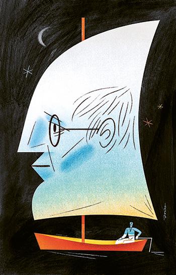 Dessin de Pawel Jonca - Quand la légitimité du professeur est remise en cause // www.revuehemispheres.com
