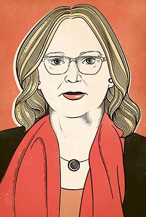 Ce portrait a été réalisé pour Hémisphères par Susan Burghart.