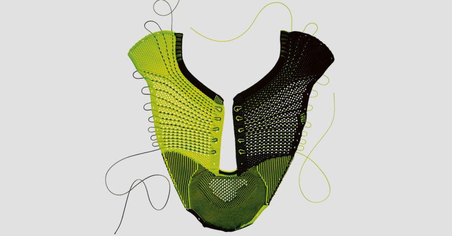 Le potentiel du tricot en 3D, des podiums de mode aux graffitis // www.revuehemispheres.com