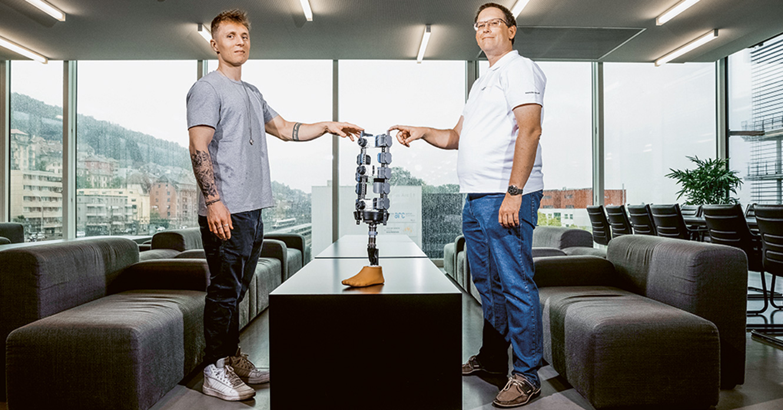 Une nouvelle prothèse pour accélérer la rééducation